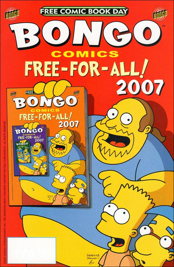 Bongo Comics Free-For-All! 2007-A by Bongo
