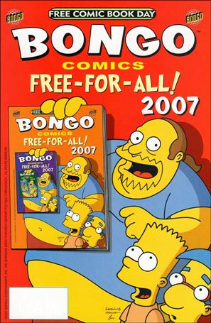 Bongo Comics Free-For-All! 2007-A