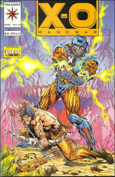 X-O Manowar (1992) 14-A by Valiant
