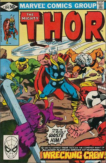 Thor (1966) 304-A by Marvel