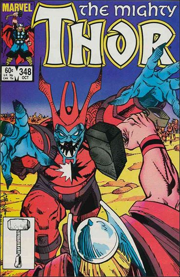 Thor (1966) 348-A by Marvel