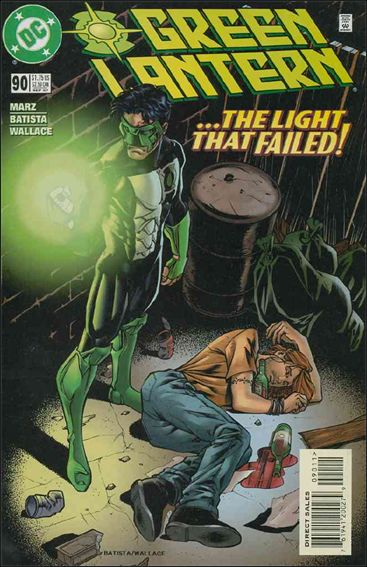Green Lantern (1990) 90-A by DC