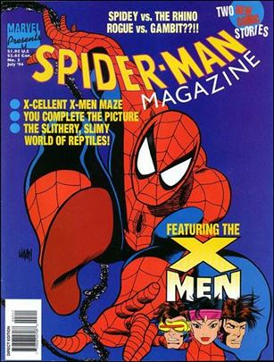 Spider-Man Magazine (1994) 3-A
