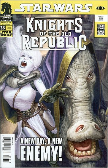 Star Wars: Knights of the Old Republic 36-A by Dark Horse