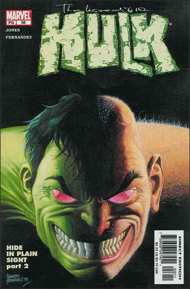 Incredible Hulk (2000)  56-A by Marvel