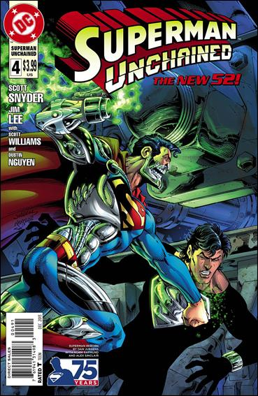 Superman Unchained 4-E by DC