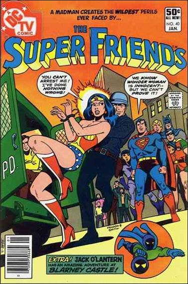 Super Friends (1976) 40-A by DC
