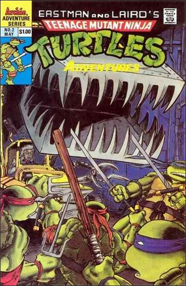 Teenage Mutant Ninja Turtles Adventures (1989) 2-A by Archie
