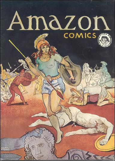 Amazon Comics 1-A by Rip Off Press