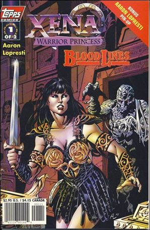 Xena: Warrior Princess: Bloodlines 1-B