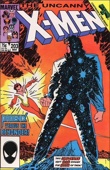 Uncanny X-Men (1981) 203-A by Marvel