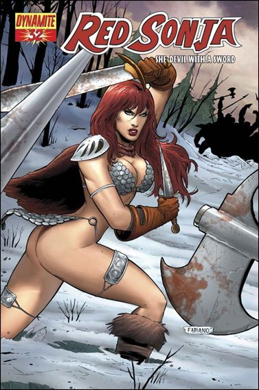 Red Sonja (2005) 32-A by Dynamite Entertainment