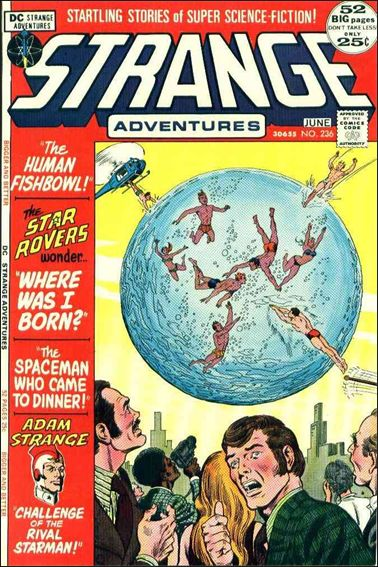 Strange Adventures (1950) 236-A by DC
