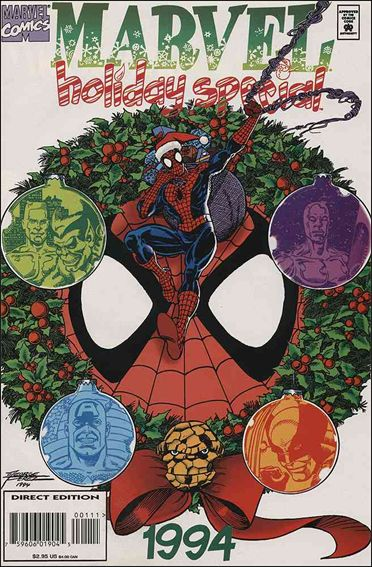 Marvel Holiday Special 1994.1-A by Marvel