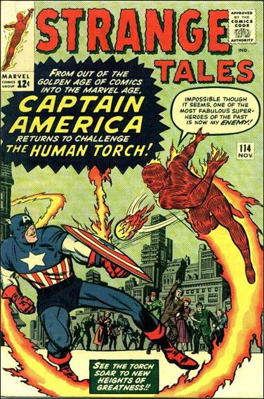 Strange Tales (1951) 114-A by Marvel