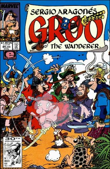 Sergio Aragones Groo the Wanderer 85-A by Epic