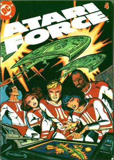 Atari Force (1982) 4-A by DC