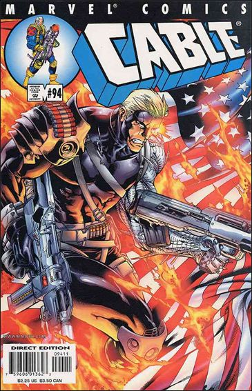 Cable (1993) 94-A by Marvel