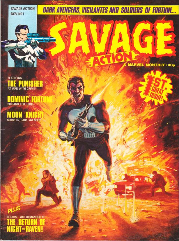 Savage Action (UK) 1-A by Marvel UK