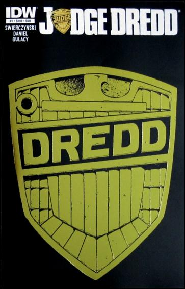 Judge Dredd (2012) 1-F by IDW
