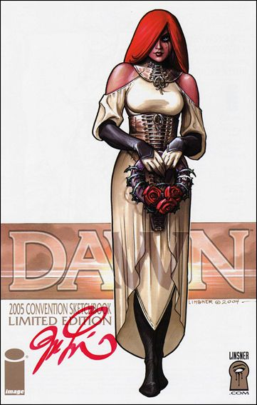 Dawn: Convention Sketch Book 2005-B by Image