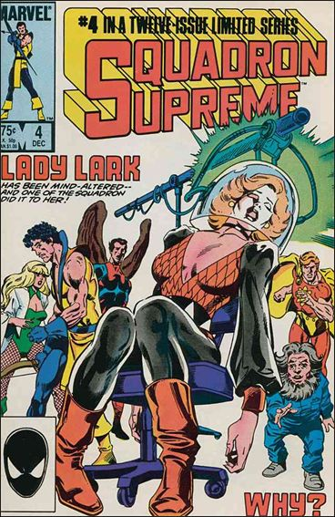 Squadron Supreme (1985) 4-A by Marvel