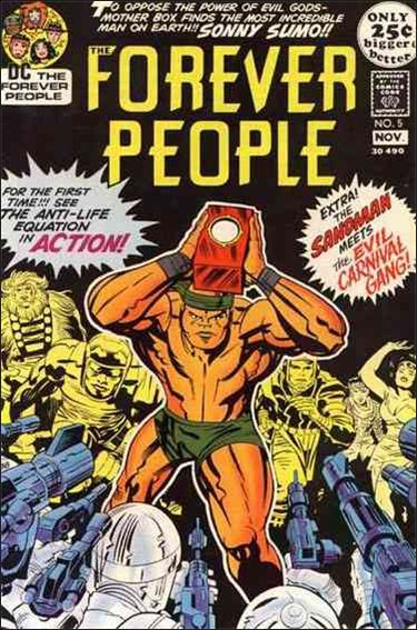 Forever People (1971) 5-A by DC