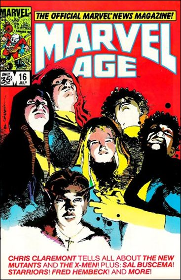 Marvel Age 16-A by Marvel