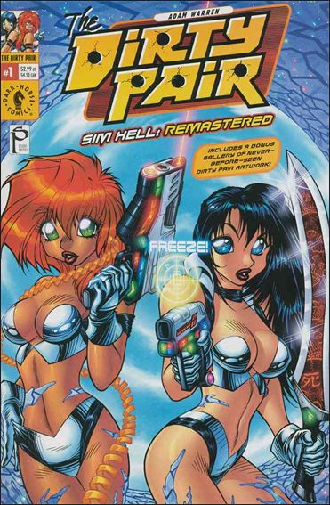 Dirty Pair: Sim Hell Remastered 1-A by Dark Horse
