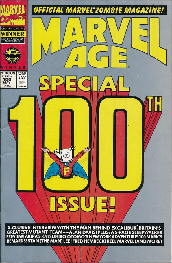 Marvel Age 100-A by Marvel