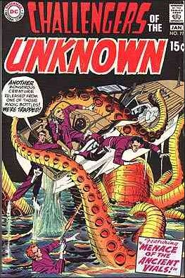 Challengers of the Unknown (1958) 77-A by DC