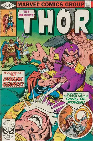 Thor (1966) 295-A by Marvel