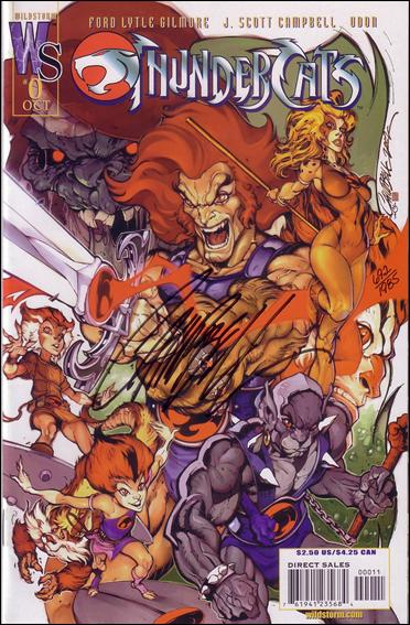 ThunderCats (2002) 0-B by WildStorm