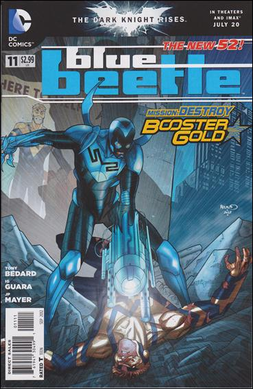 Blue Beetle (2011) 11-A by DC