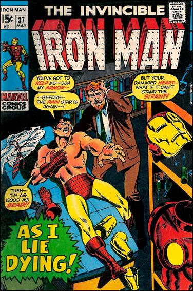 Iron Man (1968) 37-A by Marvel