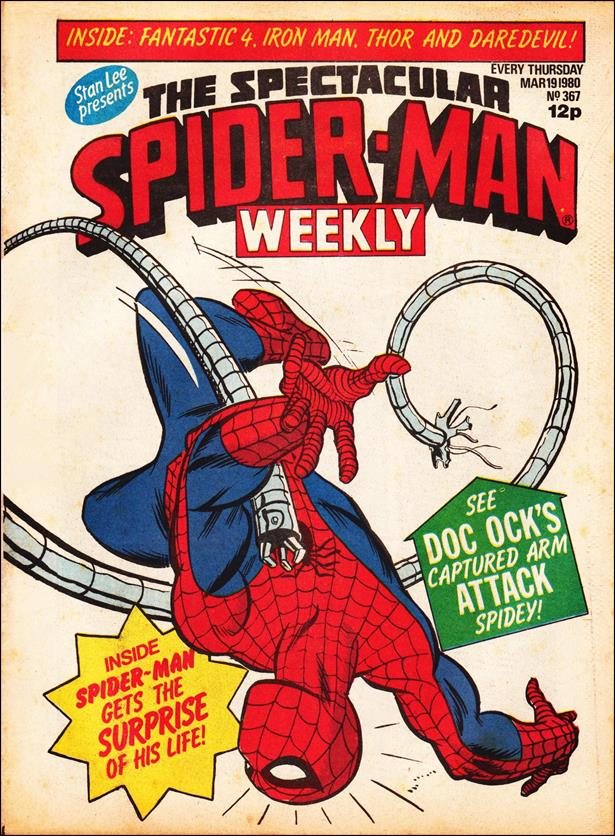 Spider-Man: Comics Weekly (UK) 367-A by Marvel UK