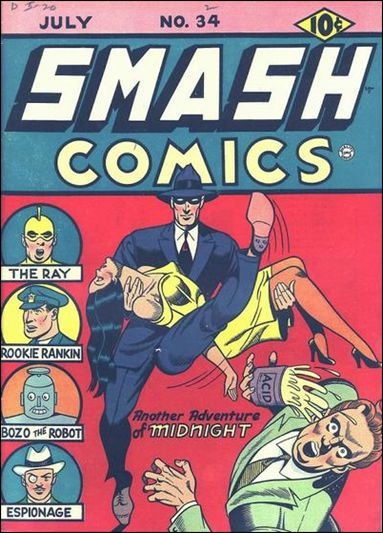 Smash Comics (1939) 34-A by Quality
