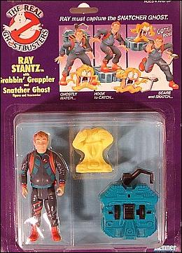 Real Ghostbusters: Power Pack Heroes Ray Stantz with Grabbin' Grappler & Snatcher Ghost by Kenner