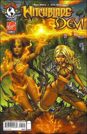 Witchblade/Devi 1-B by Top Cow