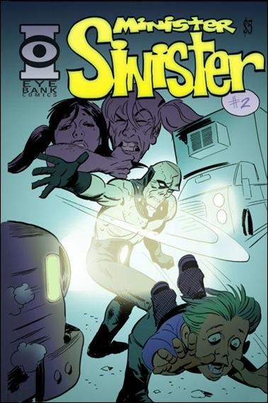 Minister Sinister 2-A by Eye Bank Comics