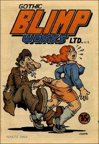 Gothic Blimp Works 2 A, Jan 1969 Comic Book by East Village Other