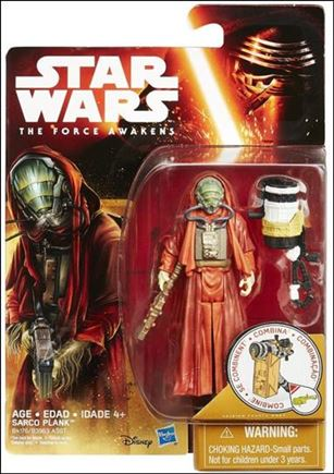 """Star Wars: The Force Awakens 3 3/4"""" Basic Action Figures Sarco Plank"""