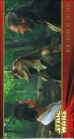 Star Wars: Episode I Widevision: Series 1 (Base Set) 8-A by Topps