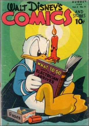 Walt Disney's Comics and Stories (1940) 59-A