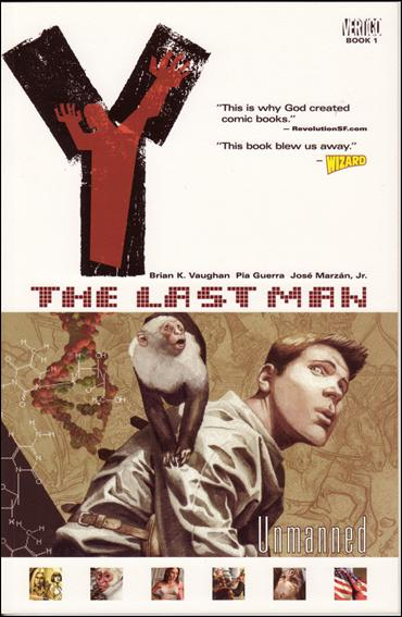 Y: The Last Man 1-B by Vertigo