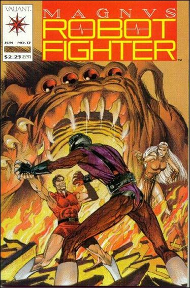 Magnus Robot Fighter (1991) 13-A by Valiant