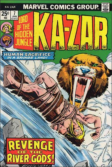 Ka-Zar (1974) 7-A by Marvel