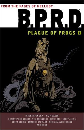B.P.R.D.: Plague of Frogs 1-A