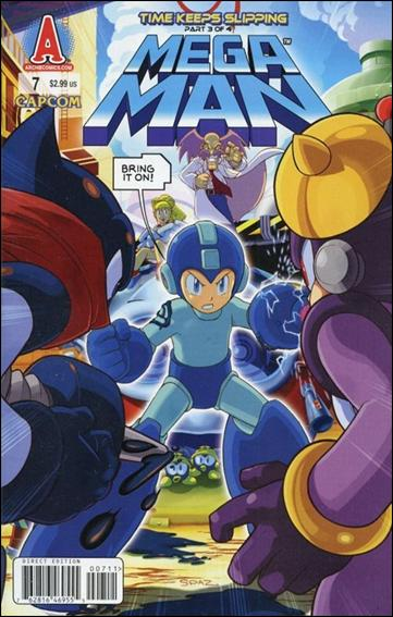 Mega Man 7-A by Archie