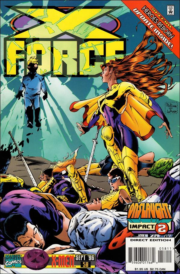 X-Force (1991) 58-A by Marvel